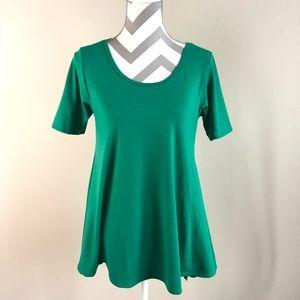 Green Lularoe Perfect T XS EUC